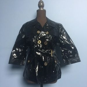 Juicy Couture Belted Rain Coat